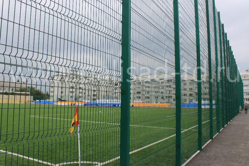 Ограждение спортивной площадки, тип 3D