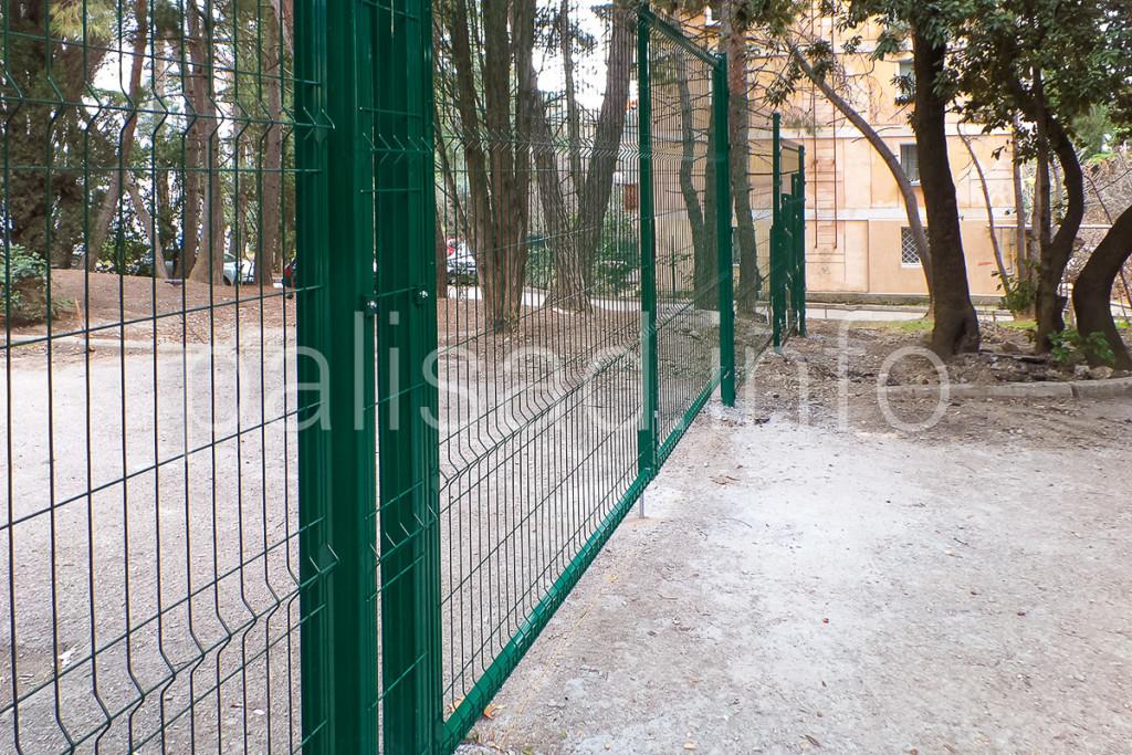 """Школа им. А. Спендиарова - теперь под защитой ограждения """"ПАЛИСАД"""""""